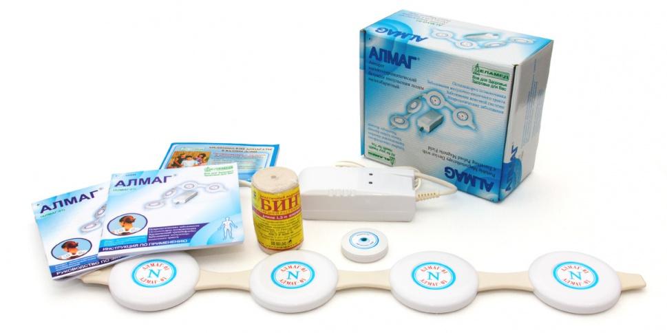 аппарат для лечения артроза коленного сустава алмаг-01