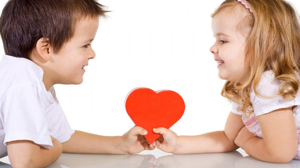 день детьми картинки влюбленных с