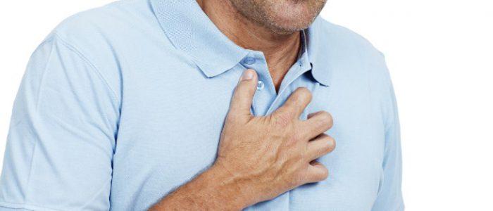 Боли слева в груди при всд